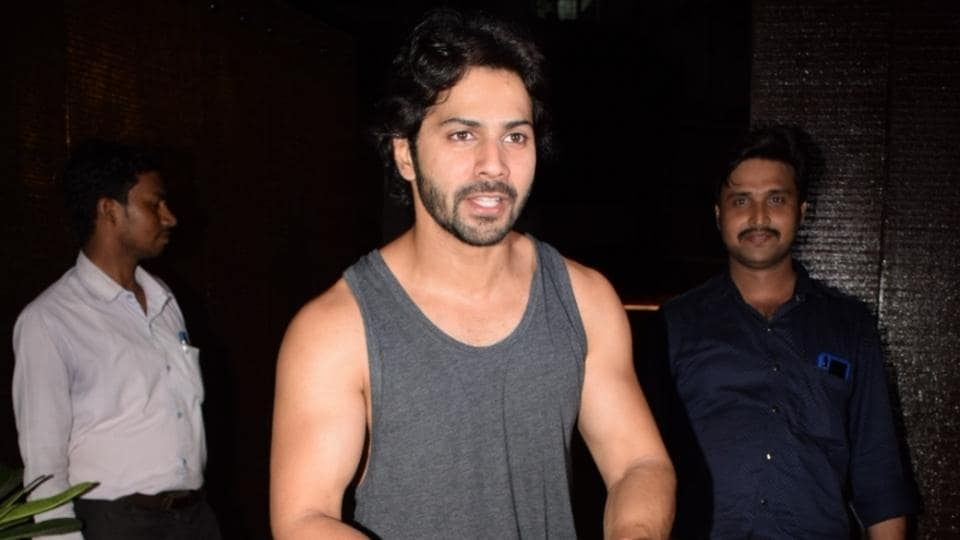 Varun Dhawan and Aditya Roy Kapur were at a location shoot when they shot this video.