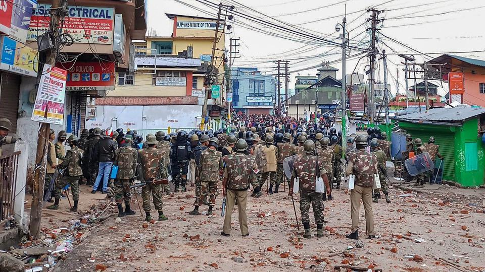 Shillong clashes,Shillong curfew,Shillong latest news