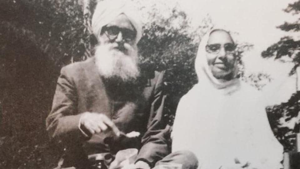 Jeweller late Parma Singh and his wife Atam Kaur, who moved from Abbottabad after communal clashes started in the North West Frontier Province in mid-40s, to settle in Shillong.