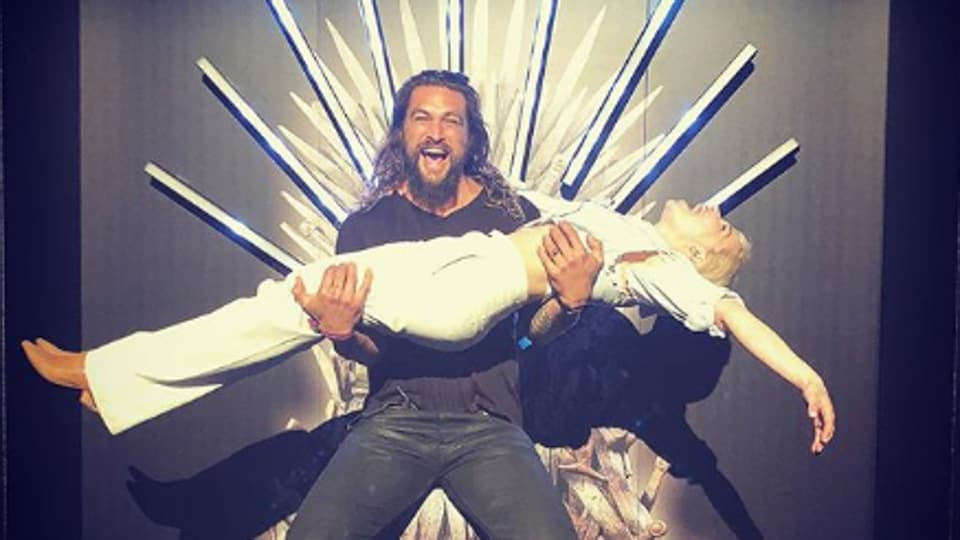 Emilia Clarke,Jason Momoa,Game of Thrones