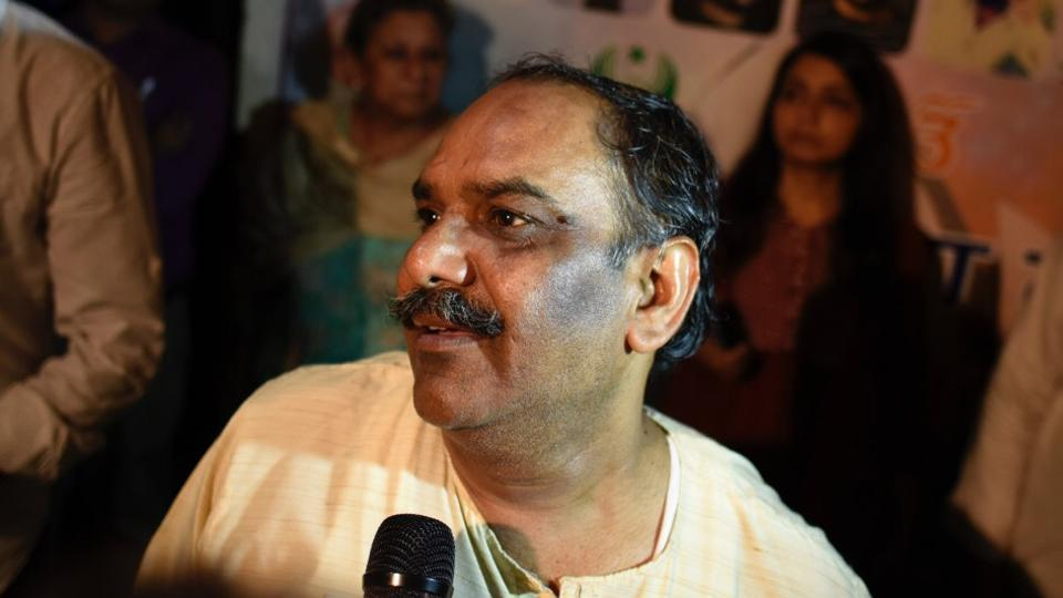 Ankit Saxena's father hosted an Iftar party at his home in Raghuvir Nagar, West Delhi to send a message of love and harmony in New Delhi, on Sunday, June 3, 2018.