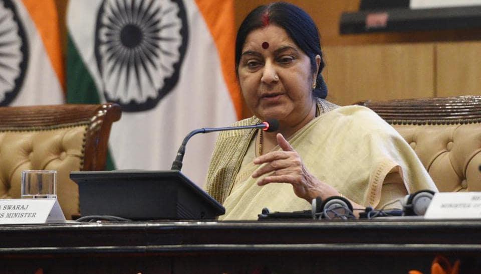 Sushma Swaraj,South Africa,BRICS