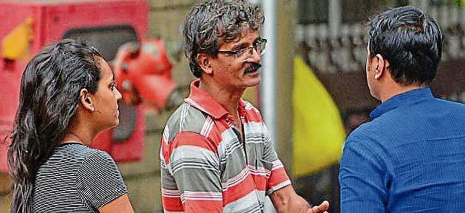 Patrick Mastersm, brother of Kenneth who drowned at Ratnagiri, at Shatabdi Hospital.