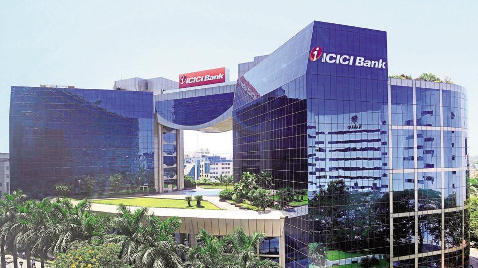 ICICI Bank building in Mumbai.