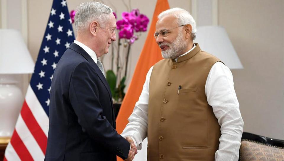 Mattis Modi meet,Narendra Modi,James Mattis
