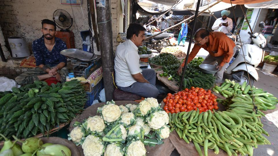 The impact of the protest at vegetable markets was visible as prices surged in absence of adequate supply.