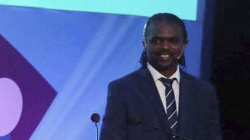 Nwankwo Kanu was in Russia to play a friendly match organised by FIFA.