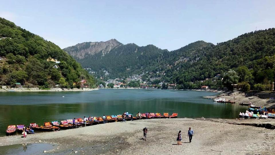 Water level in the Naini lake had reached 1.75 feet below the zero level.