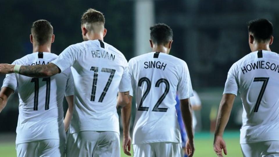 New Zealand Football team,Chinese Taipei Football team,Intercontinental Cup