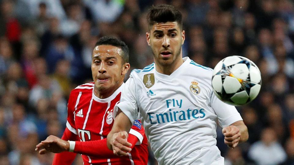 Marco Asensio,Real Madrid,Cristiano Ronaldo
