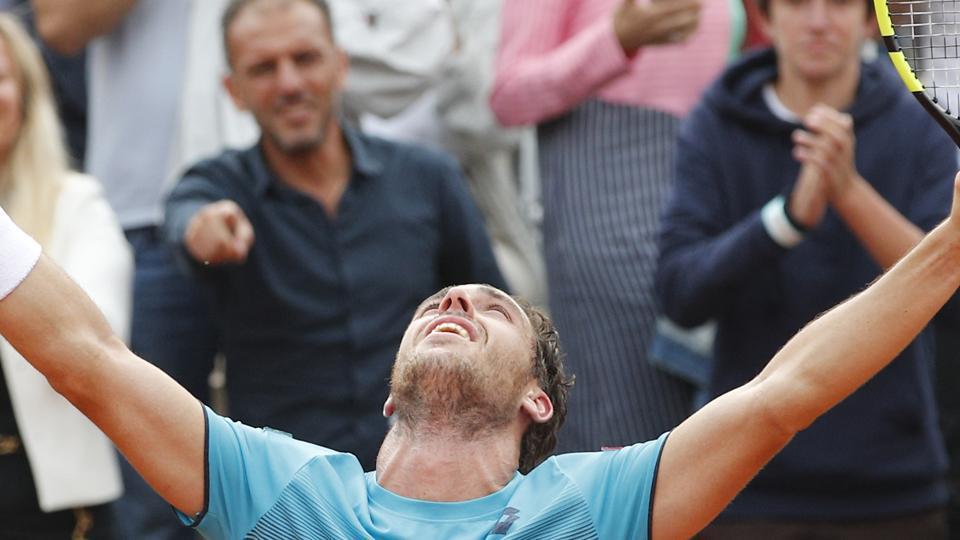 Marco Cecchinato,Novak Djokovic,Roland Garros