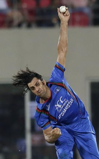 Afghanistan cricket team,Afghanistan vs Bangladesh,Shapoor Zadran