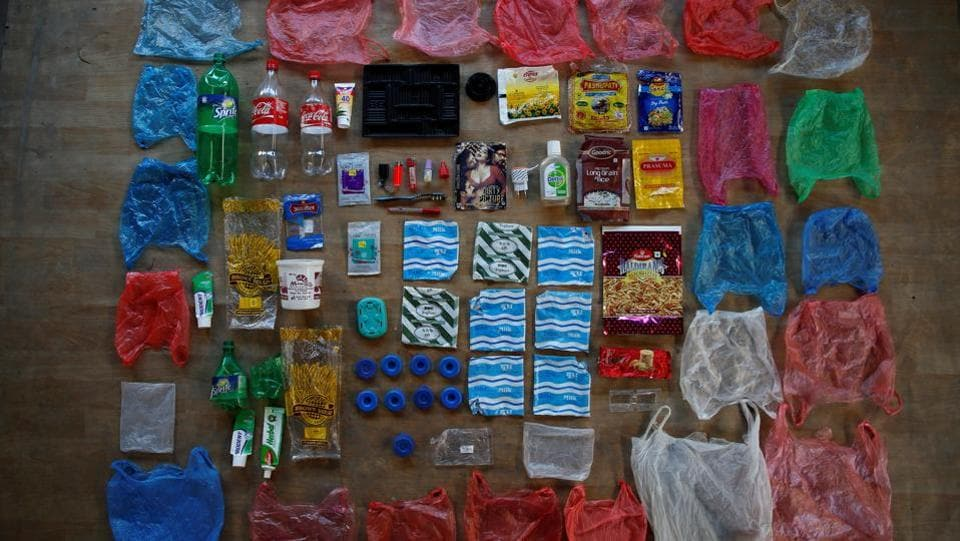 And plastic packaging forms the majority of the Shrestha family's weekly footprint. While governments and retailers have internationally started clamping down on plastic bags through bans and small fees for years, the focus has now increasingly turned to eradicating throwaway items such as straws and takeout food and drink packaging. (Navesh Chitrakar / REUTERS)