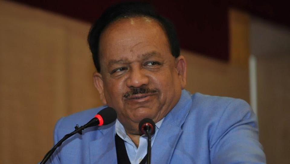 Union environment and forest minister Harsh Vardhan