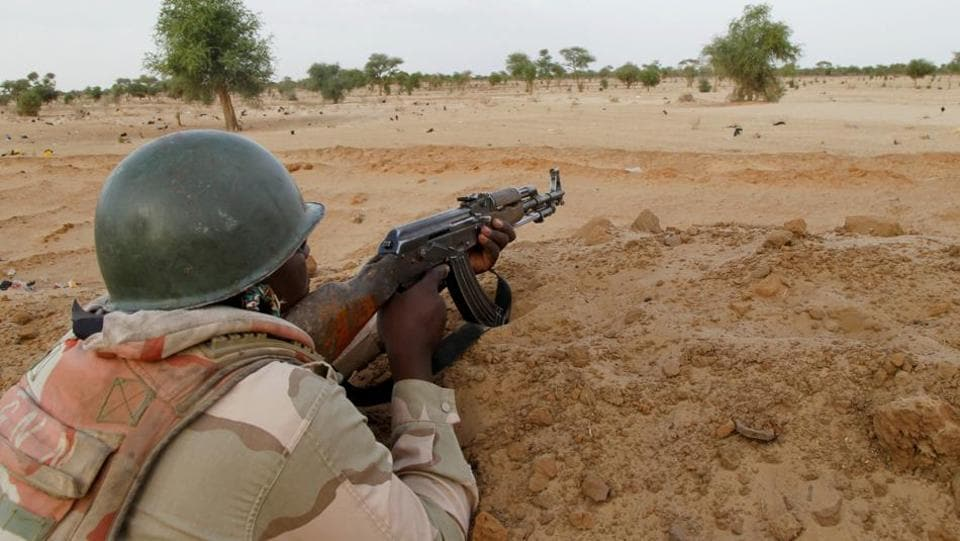 female suicide bomber,attack on mosque,Niger
