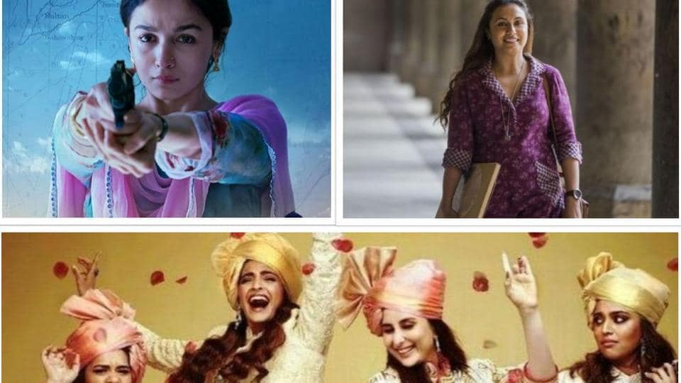 Many female-led Bollywood films have done extremely well this year.