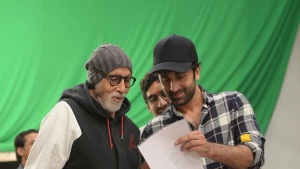 Amitabh Bachchan,Ranbir Kapoor,Alia Bhatt