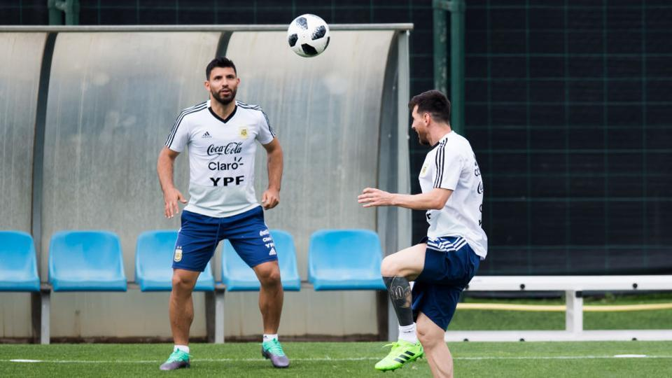 Lionel Messi and Sergio Aguero will be key for Argentina if they have to secure the 2018 World Cup title which will be held in Russia. (Getty Images)