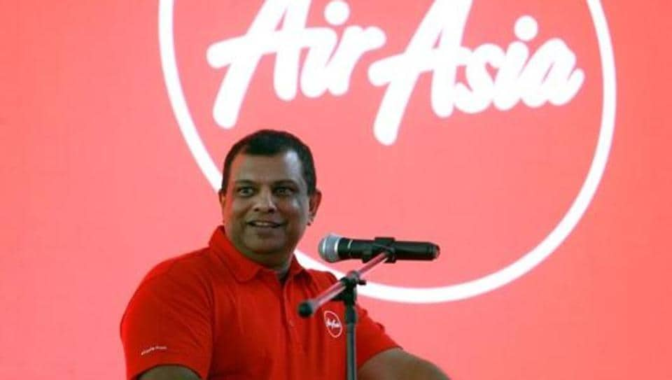 AirAsia Group CEO Tony Fernandes speaks during a news conference at the company headquarters in Sepang, Malaysia December 13, 2017.