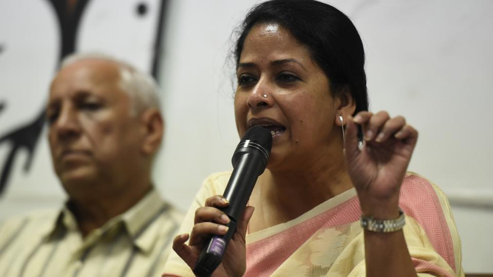 """Pranab Mukherjee's daughter Sharmistha said she hoped the former president realises how the BJP's """"dirty tricks department"""" works."""