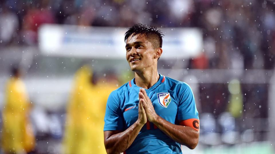 India captain Sunil Chhetri has scored five goals so far in Intercontinental Cup.