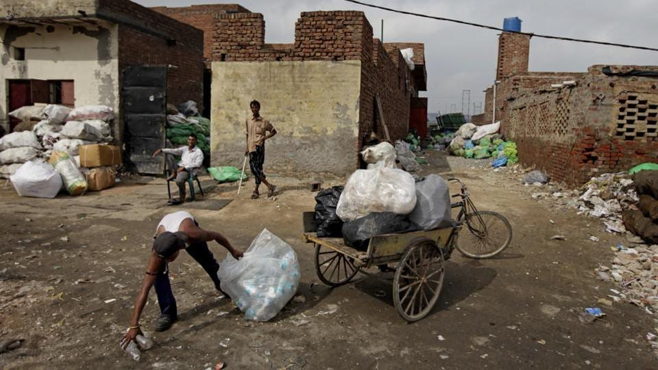 According to the UN, government bans on plastic can be effective in cutting back on waste but poor follow-through has left many bans ineffective. The report noted that rules limiting the use of plastic bags had decreased their use in places such as Morocco, Rwanda and parts of China. But elsewhere like in India things haven't gone so well. (Altaf Qadri / AP)