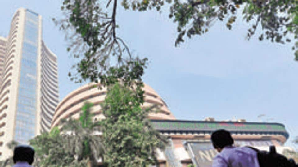 The BSE Sensex had lost 419.17 points in the previous three sessions.