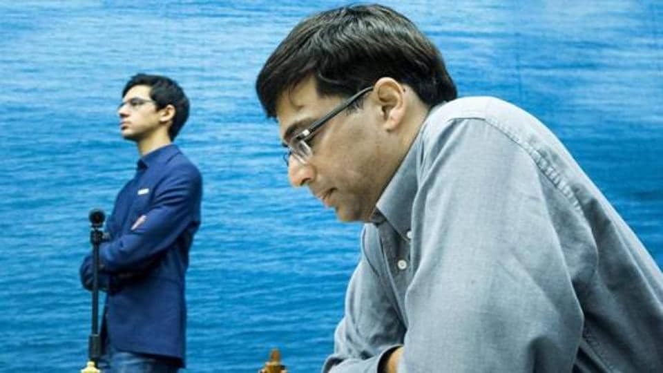 Viswanathan Anand,Maxime Vachier-Lagrave,Altibox Norway Chess tournament