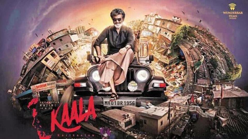 Rajinikanth, as a slum lord turned gangster, plays the lead in Kaala.