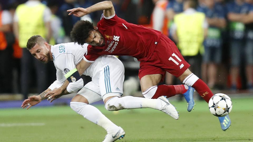 Sergio Ramos,Mohamed Salah,Champions League