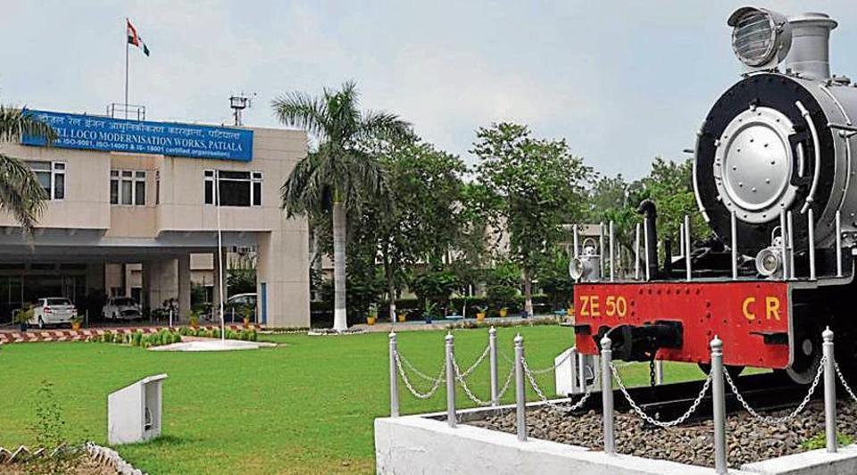 DLMW,Indian Railways,Diesel Loco Modernisation Works