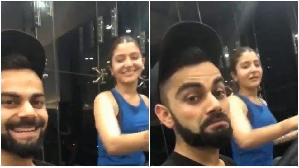 Virat Kohli thinks Anushka Sharma is better than him at cardio.