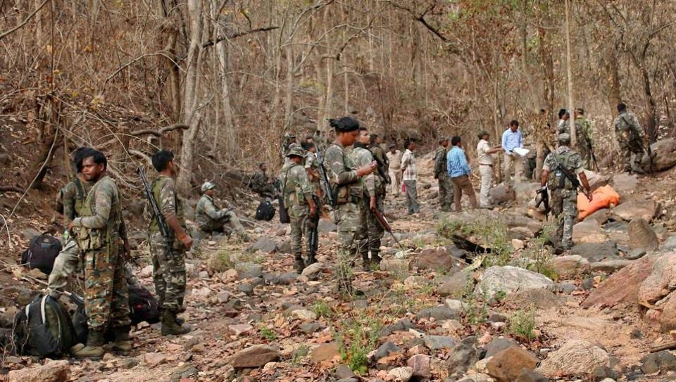 Encounter,Jharkhand,Maoists