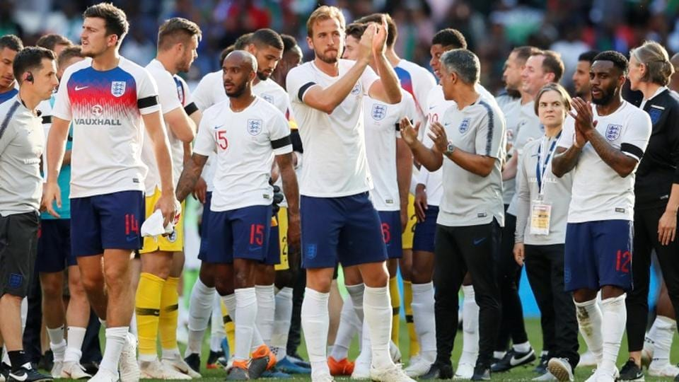 England are the joint-second youngest team at the 2018 FIFA World Cup alongside France.