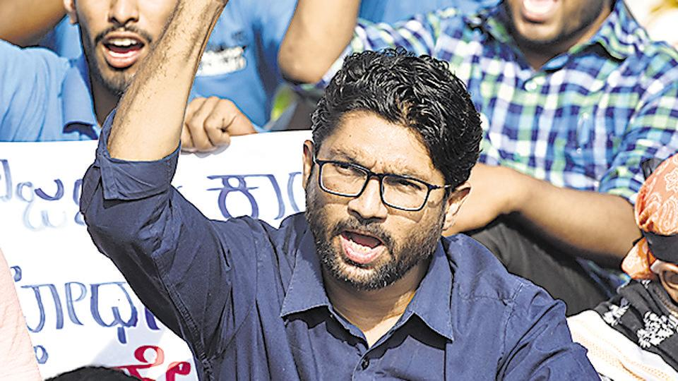 Vadgam MLA Jignesh Mewani's aides said he had received similar death threats through the social media on earlier occasions too.