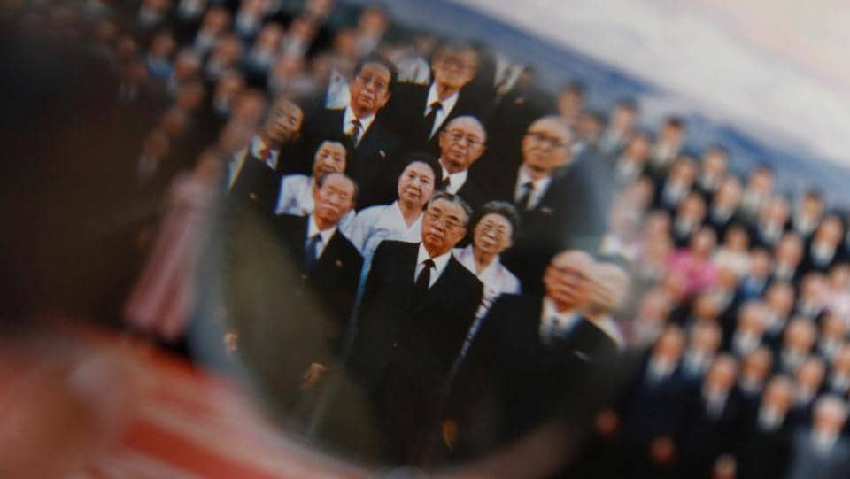 Baek Chong Won, 95, looks at a photograph featuring former North Korean leader Kim Il Sung. Some 90,000 opted to leave for North Korea between 1959 and 1984. Those numbers plunged in the 1980s as tales of poverty spread. Others supported the North with cash remittances and ferrying goods from Japan until sanctions banned port calls. (Kim Kyung-Hoon / REUTERS)