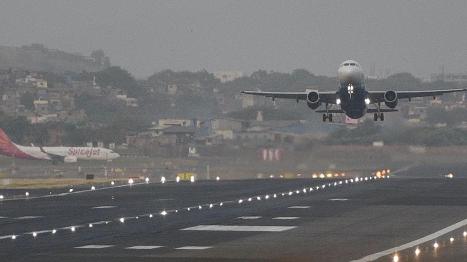 Mumbai is the only single-runway airport in India to handle so many take-offs and landings in a day.