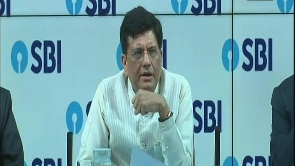 """After meeting the heads of state-owned banks, Goyal said the government """"stands solidly behind each of the 21 public sector banks (PSBs)""""."""