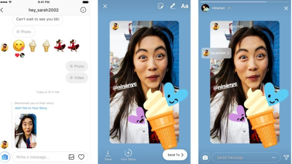 Now, you can repost Instagram Stories you're tagged in