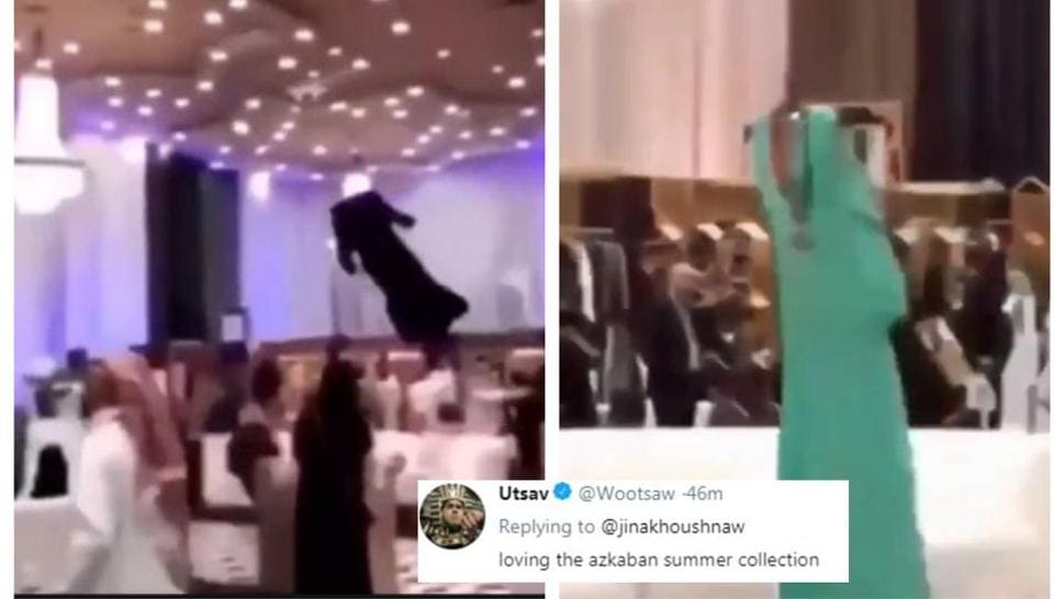 Image result for drone replaces models at saudi arabia fashion show