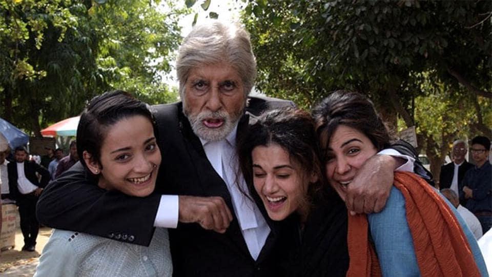 Taapsee Pannu,Amitabh Bachchan,Pink