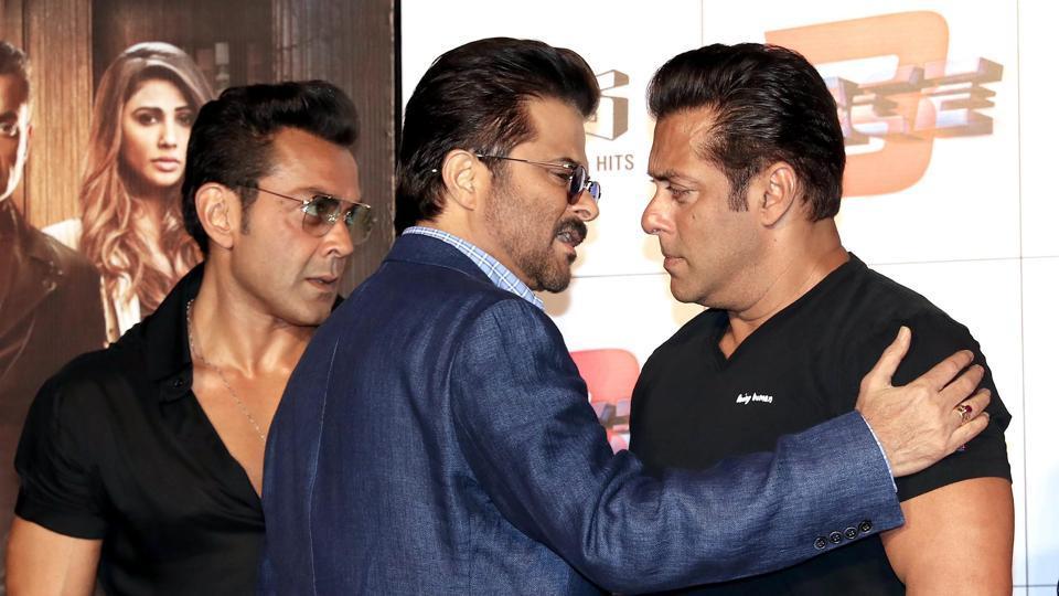 Anil Kapoor,Salman Khan,Dus Ka Dum