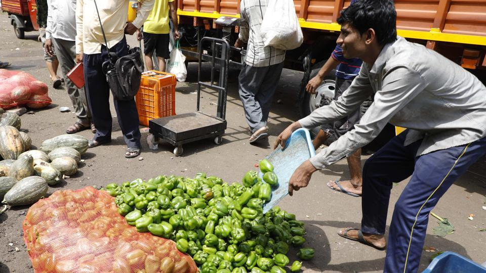Many farmers organisations in pune have given support to the 10- day nationwide strike by farmers, there is a visible impact on the supply of vegetables in the city.