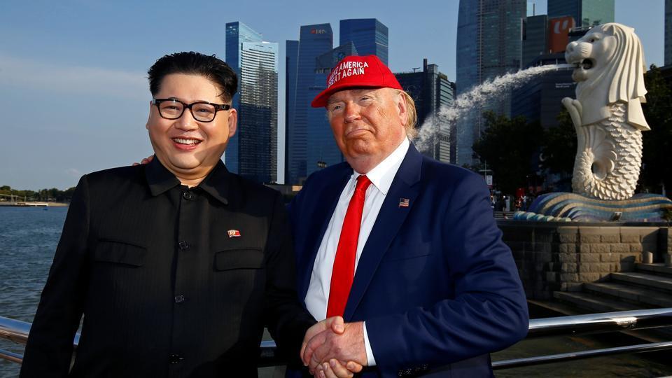 Trump Kim summit,Singapore,Trump