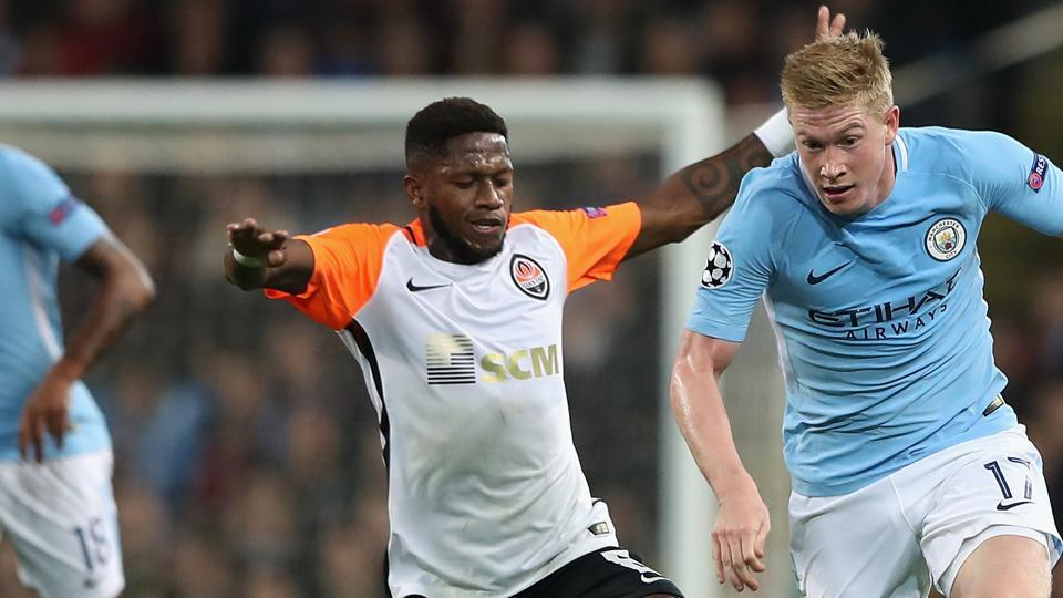 Fred – who is set to join Premier League giants Manchester United after a deal was agreed with Ukrainian champions Shakhtar Donetsk – hurt his ankle during the training session.
