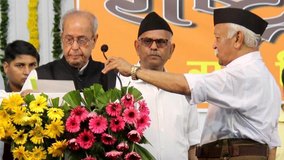 Pranab Mukherjee,RSS,BJP