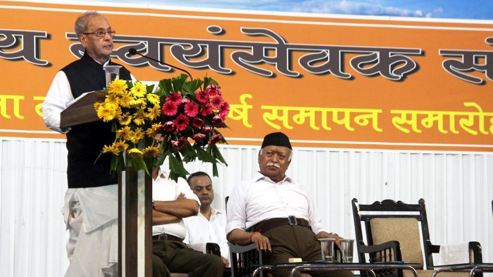 Pranab Mukherjee's speech,Pranab Mukherjee,RSS