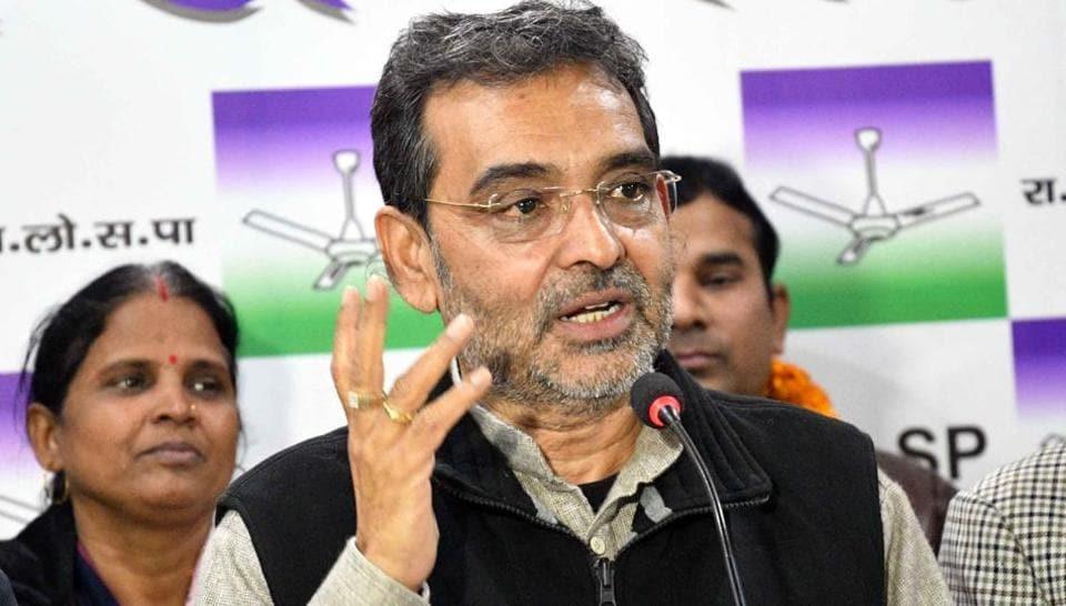 Union minister,Upendra Kushwaha,absence at NDA get-together