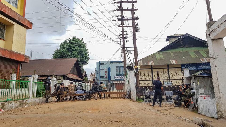 Shillong,Shillong curfew,Meghalaya