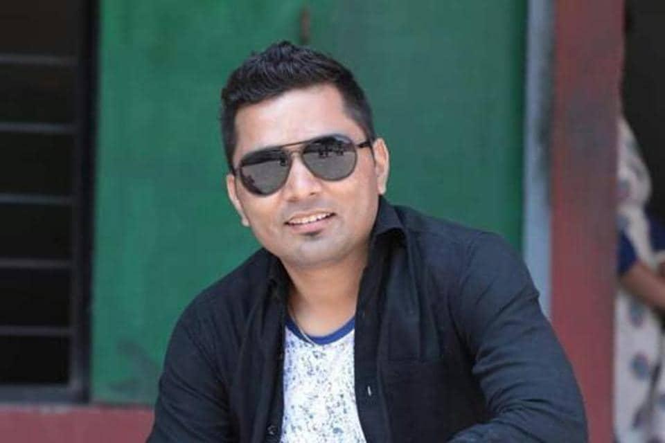 Kumaoni folk singer Pappu Karki.